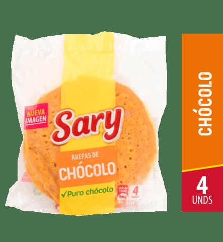 AREPAS DE CHOCOLO SARY B X4UND X350g